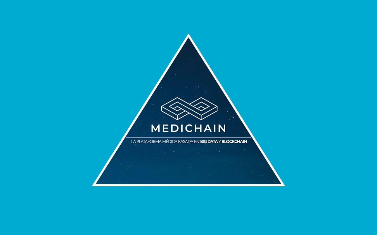 Logo de Medichain: Plataforma médica basada en BIG DATA y Blockchain