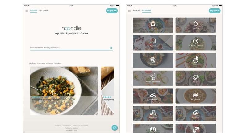 Nooddle app
