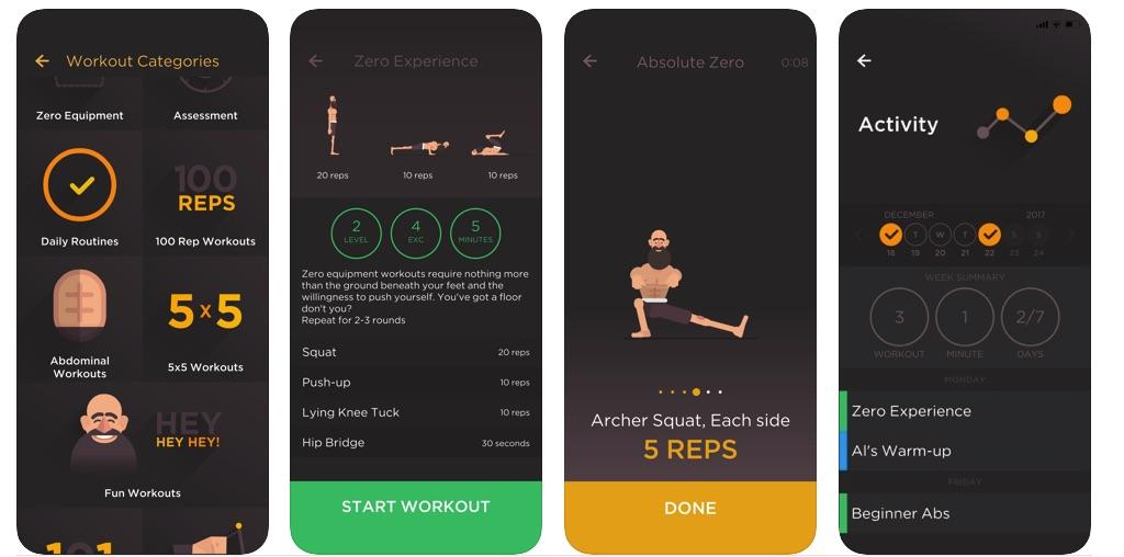 weare workin out app