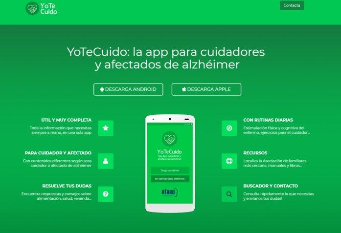 imagen de yotecuido app