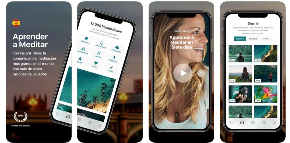 Insight Timer – Meditación app