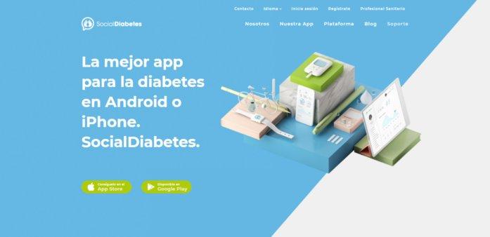 website de la app socialdiabetes