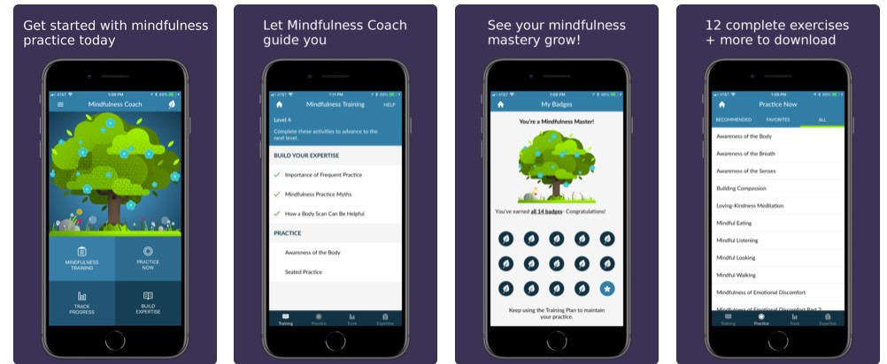 Mindfulness Coach app
