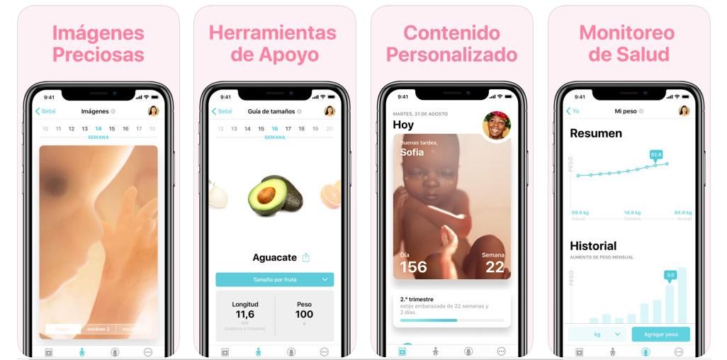 Embarazo+ app